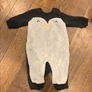 Baby Gap penguin all in one 3-6 months